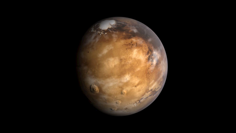 火星の表面下に塩分の多い湖を発見