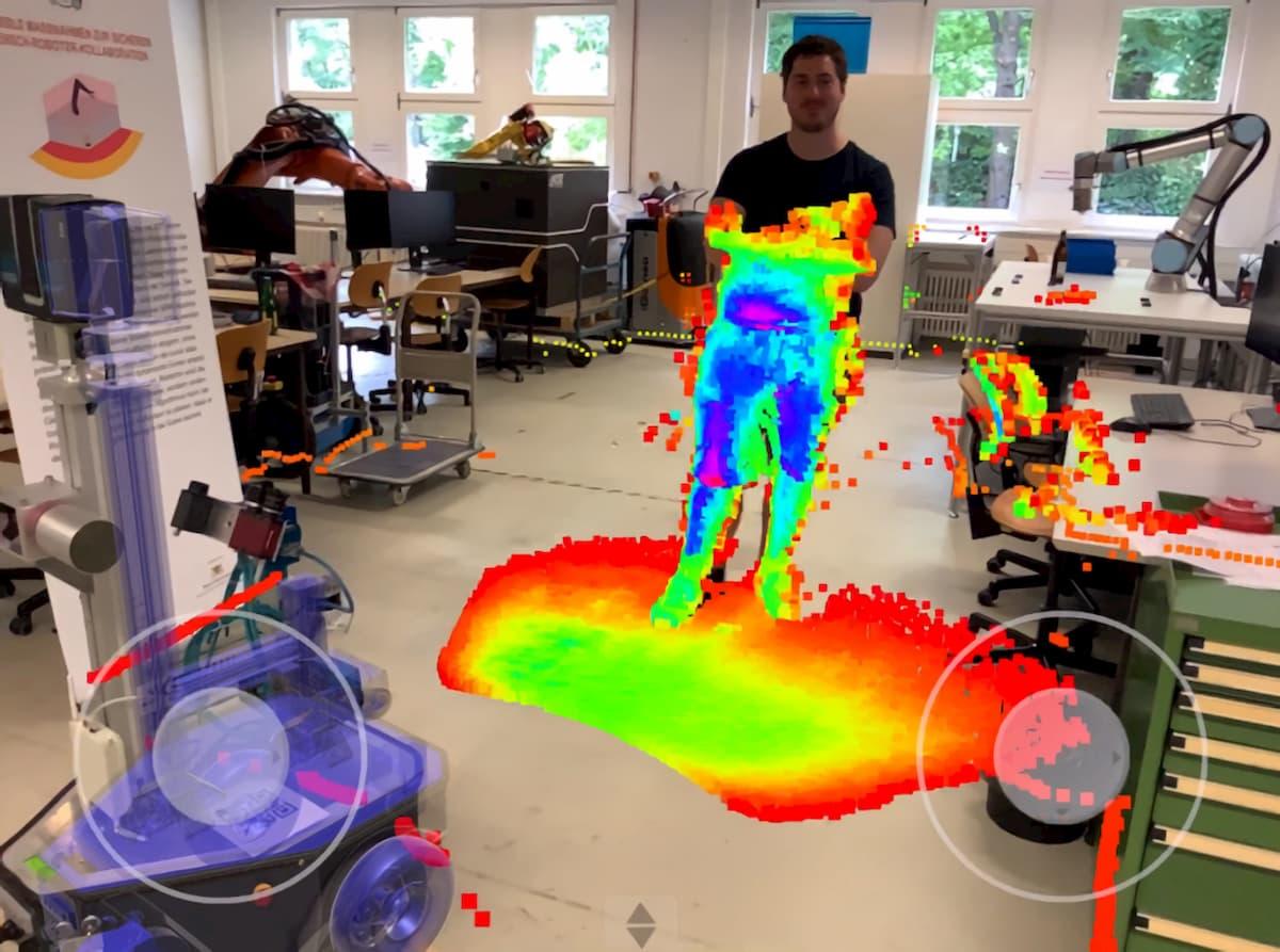 カールスルーエ工科大、データを可視化してロボットの設計を改善するのに役立つARを開発