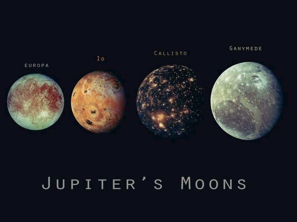 木星の4つの月の海の潮は共鳴している